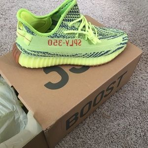 Adidas Yeezy 350 boost v2 sun yellow